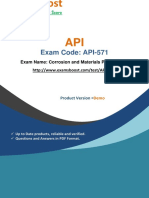ExamsBoost API-571 Test Practice Questions PDF