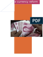 Currency Reform in China