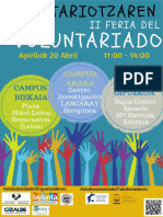 II Feria Voluntariado 20a