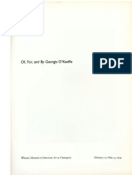 1994 O'Keeffe's Body of Art,- in of, For, And by Georgia O'Keeffe