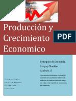 Produccion y Crecimiento Economico