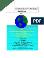Perimeter Security Sensor Technologies Handbook