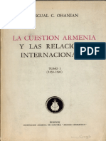 Pacual C Ohanian - La Cuestión Armenia y Las Relaciones Internacionales 1 (1839-1896)