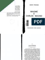 Henri Pirenne. Maomé e Carlos Magno