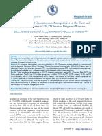 Screening of Fetal Chromosome Aneuploidies