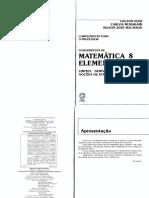 Fundamentos Da Matemática Elementar 8 - (Exercícios Resolvidos)
