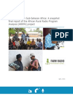Farm Radio International ARRPA Report April 2014