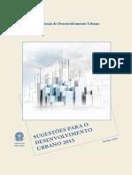 Sugestoes para o Desenvolvimento Urbano 2015