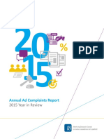 2015 Ad Complaints Report