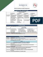 Ealta 2014 Program Coventry