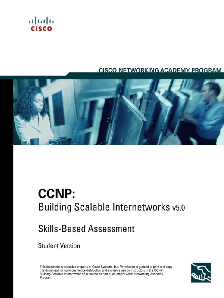 Workbooks ccnp lab workbook : CCNP LAB FINAL EXAM   Internet Protocols   Telecommunications