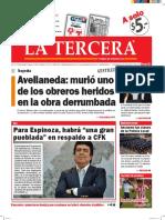Diario La Tercera 13.04.2016