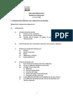 Cedulario de Derecho Civil Para Licenciatura, Aprobado El