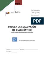 Prueba Evaluación Diagnóstico Competencia social y ciudadana  2º ESO_Liceo Castilla_portada