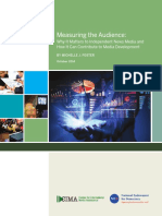 CIMA Measuring the Audience Foster