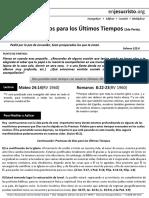 HCV Promesas de Dios para los Últimos Tiempos (2daParte) - Abril 12, 2016