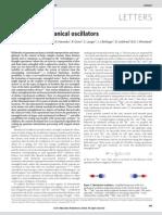 Entangled Mechanical Oscillators-Nature08006