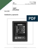 Instalacion y mantenimiento Power Logic.pdf