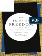 The Brink of Freedom by David Kazanjian