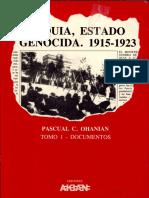 Pacual C Ohanian - Turquia Estado Genocida 1915-1923-1