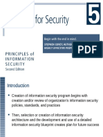 Information Security Chapter 2 Planning for Security.ppt