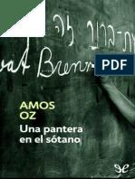 Oz, Amos - Una Pantera en El Sotano [14562] (r2.1)