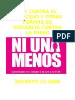 Ley Contra El Femicidio y Otras Formas de Violencia Contra La Mujer