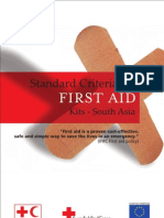 Standard Criteria for First Aid Kits