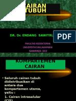 Fisiologi Cairan Tubuh