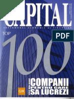 Capital - 2007 - Top 100 - Cele Mai Bune Companii Pentru Care Sa Lucrezi