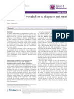 Targeting Metabolism to Diagnose and Treat