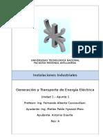 Instalaciones Industriales - U1-A1 - Generación y Transporte de Energía Eléctrica