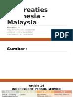Indonesia-malaysia Pasal 14 - 17