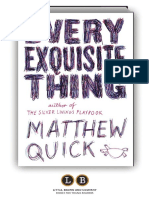 Every Exquisite Thing (Preview)