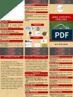 Folder Abril Indígena 2016