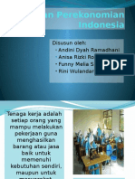 Kegiatan Perekonomian Indonesia