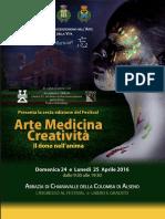 Convegno Arte Medicina Creatività, Abazia Di Chiaravalle 24 - 25 Aprile 2016