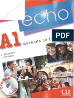 Livro Francês I - Écho A1 - Niveau Debutant