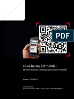 Code-barres 2D mobile