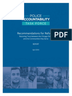 Chicago Police Accountability Task Force Recommendations
