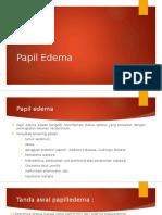 Papil Edema