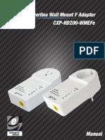 Corinex Hd200 Wmefe Manual Eng