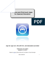 iPhone & iPod Touch Apps for Education