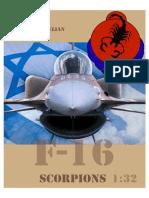 F-16a Israel Scorpions