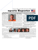 April 13 - 19, 2016  Sports Reporter