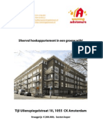 Brochure Tijl Uilenspiegelstraat 1II te Amsterdam