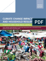 Climate change Impacts and Household Resilience
