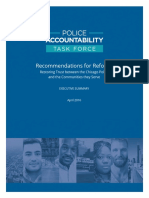 Chicago Police Accountability Task Force Summary
