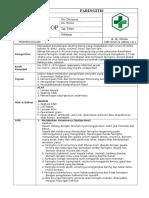 Format Sop Teknis Faringitis Pemda 2016
