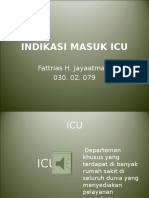 15718544 Indikasi Masuk Icu